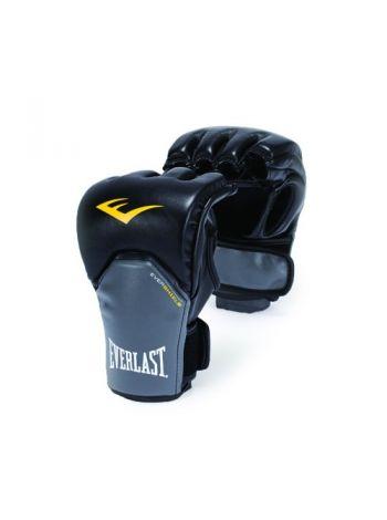 Перчатки Everlast MMA COMPETITION STYLE черно-серые