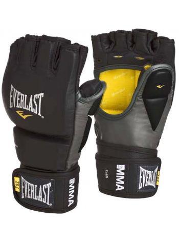 Перчатки тренировочные Evetlast MMA GRAPPLING черные
