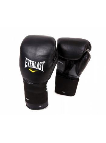 Снарядные перчатки EVERLAST PROTEX2 LEATHER черные