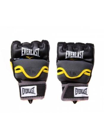 Снарядные перчатки Everlast гелевые с утяжелителями
