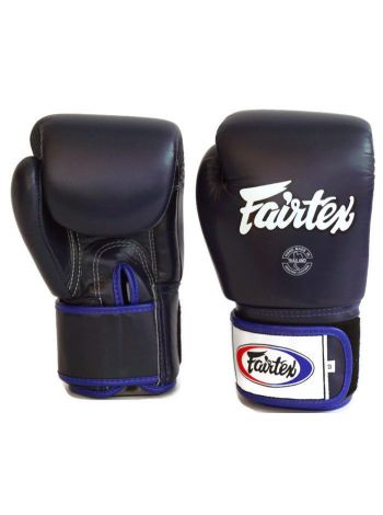 Боксерские перчатки FAIRTEX BGV1 синие