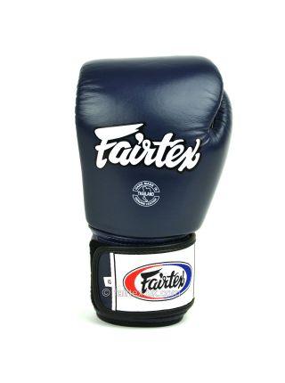 Перчатки для бокса FAIRTEX BGV1 сине-белые