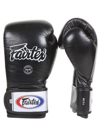 Боксерские перчатки FAIRTEX BGV4 черные