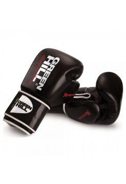 Боксерские перчатки Green Hill BOXING GLOVES ARSENAL черные