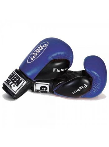 Боксерские перчатки Green Hill BOXING GLOVES FIGHTER синие
