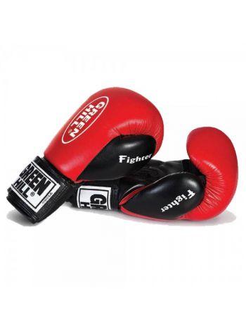 Боксерские перчатки Green Hill BOXING GLOVES FIGHTER красные