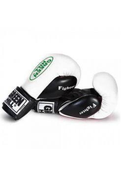 Боксерские перчатки Green Hill BOXING GLOVES FIGHTER белые