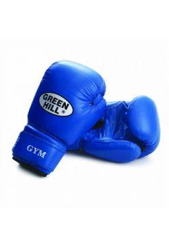 Боксерские перчатки Green Hill BOXING GLOVES GYM синие