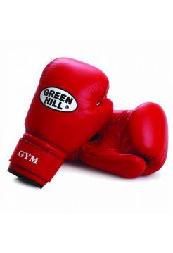 Боксерские перчатки Green Hill BOXING GLOVES GYM красные