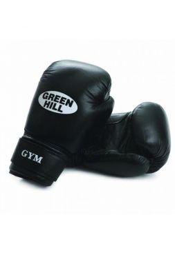 Боксерские перчатки Green Hill BOXING GLOVES GYM черные