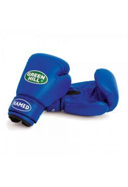Боксерские перчатки Green Hill BOXING GLOVES HAMED синие