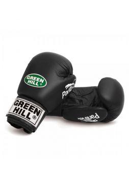 Боксерские перчатки Green Hill BOXING GLOVES PANTHER черные