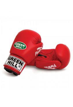 Боксерские перчатки Green Hill BOXING GLOVES PANTHER красные