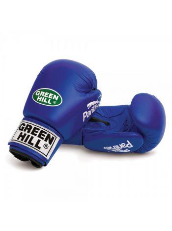 Боксерские перчатки Green Hill BOXING GLOVES PANTHER синие