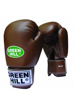 Боксерские перчатки GREENHILL BOXING GLOVES RETRO коричневые