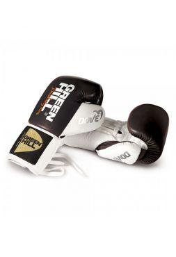 Боксерские перчатки Green Hill BOXING GLOVES DOVE NEW черно-белые