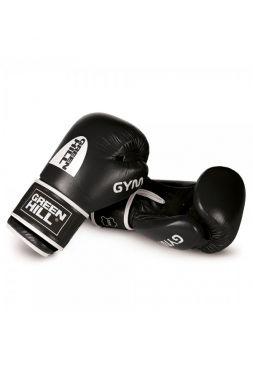 Боксерские перчатки GREEN HILL BOXING GLOVES GYM 1 черные