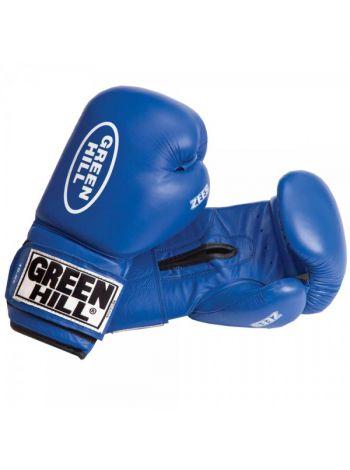 Боксерские перчатки GREEN HILL BOXING GLOVES ZEES синие