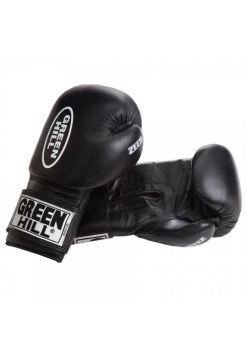 Боксерские перчатки GREEN HILL BOXING GLOVES ZEES черные