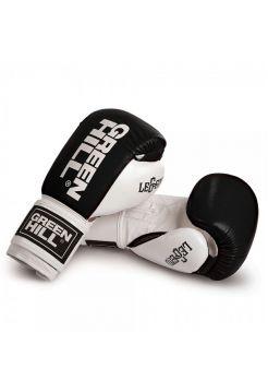 Боксерские перчатки GREENHILL BOXING GLOVE LEGEND черно-белые
