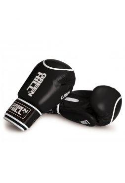 Боксерские перчатки GREEN HILL BOXING GLOVES LION черные