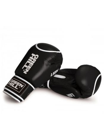 Боксерские перчатки GREEN HILL BOXING GLOVES SUPER STAR черные