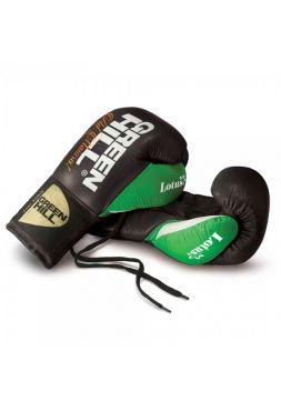 Боксерские перчатки GREENHILL BOXING GLOVE LOTUS черные