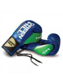 Боксерские перчатки GREENHILL BOXING GLOVE LOTUS синие