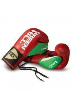 Боксерские перчатки GREENHILL BOXING GLOVE LOTUS красные