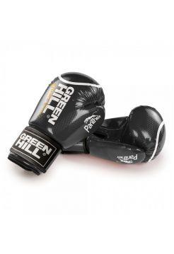 Боксерские перчатки Green Hill PANTHER черные