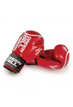 Боксерские перчатки Green Hill PANTHER красные