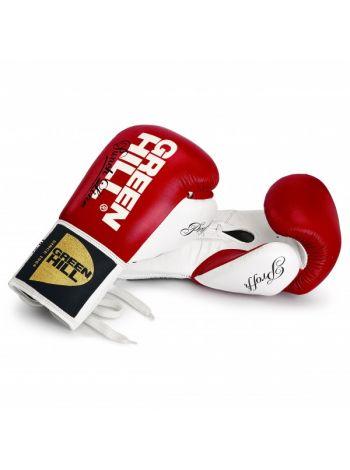 Боксерские перчатки GREEN HILL BOXING GLOVES PROFFI NEW красные