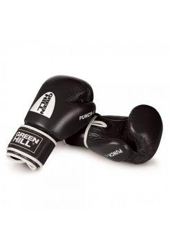 Боксерские перчатки Green Hill BOXING GLOVES PUNCH II черные