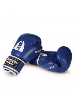 Боксерские перчатки Green Hill BOXING GLOVES PUNCH II синие