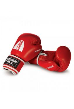 Боксерские перчатки Green Hill BOXING GLOVES PUNCH II красные
