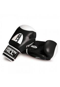 Боксерские перчатки Green Hill TIGER WITH TARGET черные