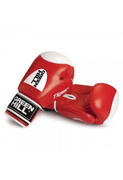 Боксерские перчатки Green Hill TIGER WITH TARGET красные