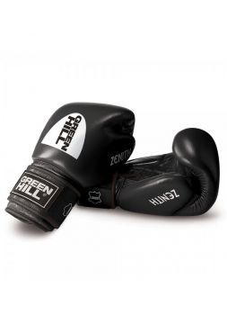 Боксерские перчатки GREEN HILL BOXING GLOVES ZENITH черные
