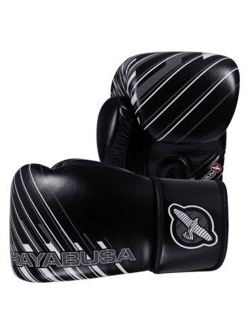 Боксерские перчатки Hayabusa Ikusa Charged черно-серые