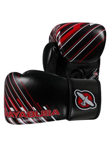 Боксерские перчатки Hayabusa Ikusa Charged черно-красные