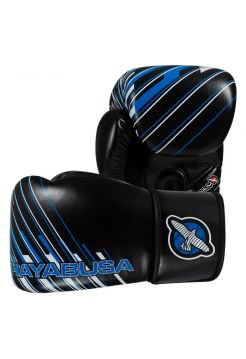 Боксерские перчатки Hayabusa Ikusa Charged черно-синие