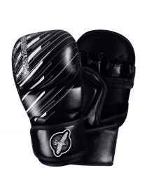 Перчатки ММА Hayabusa Ikusa Charged 7oz Hybrid черные