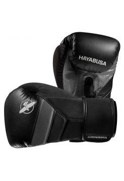 Боксерские перчатки Hayabusa T3 черно-серые