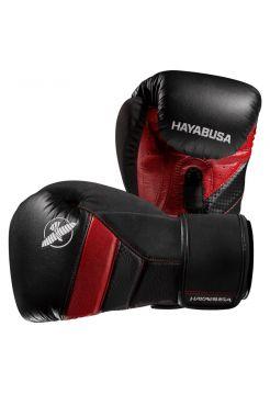 Боксерские перчатки Hayabusa T3 черно-красные