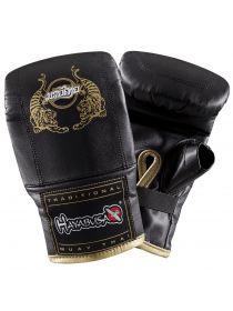 Снарядные перчатки HAYABUSA Muay Thai черные