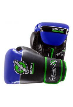 Боксерские перчатки Hayabusa Sport черно-синие