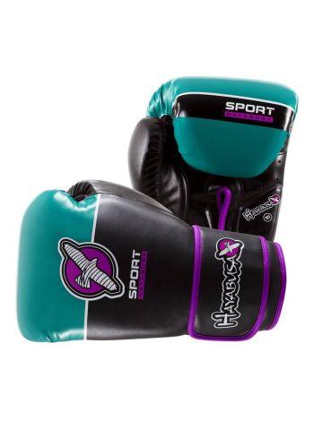 Боксерские перчатки Hayabusa Sport черно-зеленые