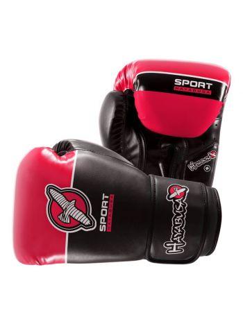 Боксерские перчатки Hayabusa Sport черно-красные