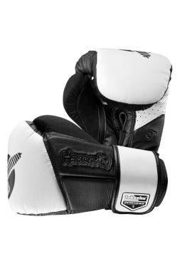 Боксерские перчатки Hayabusa Tokushu Regenesis черно-белые
