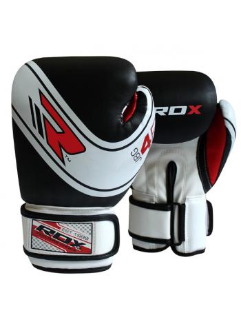 Боксерские перчатки детские RDX ROBO черные